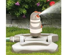 Bradas WL-Z12 Rasensprenger 320 qm, Regner, Sprinkler, Bewässerung, Kreisregner, Impulsregner, grau, 10 x 10 x 10 cm