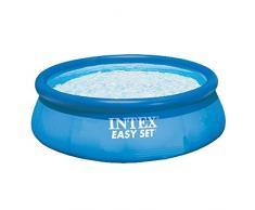 Intex Easy Set Pool - Aufstellpool - Ø 244 x 76 cm - Mit Filteranlage