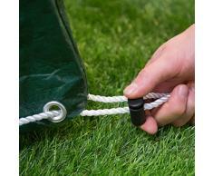 Ultranatura Gartenmöbel Abdeckung / robuste Schutzhülle für eine komplette Gartenmöbel-Gruppe, wetterfeste und wasserdichte Abdeckplane für Gartenmöbel jeder Art, 240x140x90cm