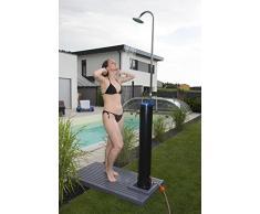 Steinbach Speedshower Solardusche, PVC-Tank 20 l Inhalt, 217 cm Höhe, schwarz, 049010