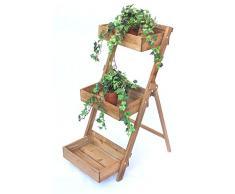 Blumentreppe » Günstige Blumentreppen Bei Livingo Kaufen Blumentreppe Holz Metall Pflanzentreppe