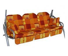 Angerer Deluxe Schaukelauflage 3-Sitzig Design Toledo terra