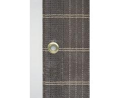 Windhager Balkonblende MADAGASKAR Sichtschutzmatte UV-stabil, Kakao-Braun, 180 g/m², 3 x 1 m, 06124