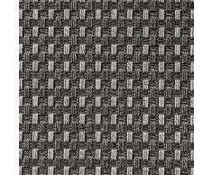 In- & Outdoor Teppich Küchen Teppich Esszimmer Naturino Panama von DEKOWE Speisezimmer,Terrasse,Küche,Sisal,Sisal Optik,natur (80 x 150 cm, 002 anthrazit)