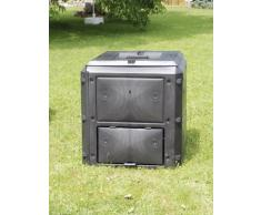 KHW 56000 Bio-Quick, erweiterbarer Komposter mit Deckel, Basismodell 420 L, anthrazit