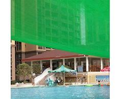 JDlept Sonnensegel, Rechteck Markisenüberdachung Außengarten Terrassenpflanze Swimmingpool 80% Beschattungsrate Sonnenschutz. (Size : 4m*6m)