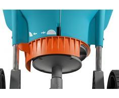 Gardena Streuwagen XL: Universalstreuer zum Ausbringen von Dünger, Samen und Streusalz, 1.5 - 6 m Streubreite, für ca. 800 m² Rasenfläche, 18 l Fassungsvermögen, mit Verschlussschieber (436-20)