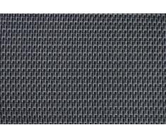 Windhager Sichtschutzmatte Aeris, Balkonblende, Balkonverkleidung, Sichtschutz für Garten und Balkon, 0,9 x 5 m, grau, 06800