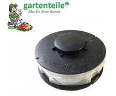 6 Stück Rasentrimmer Ersatzspule / Doppel - Fadenspule passend für ALDI Gardenline Elektro Rasentrimmer GLR 450 451 452 453 454 455 456 457 458 459 450/1 450/2 450/3 450/4 450/5