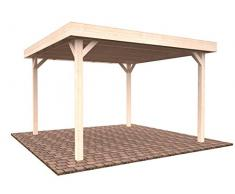 Holzpavillon, Pergola für den Garten, 12,2 m2