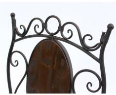 DanDiBo Stuhl Gartenstuhl HX12581 Bistrostuhl 93 cm Klappstuhl Metall und Holz