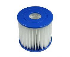 Jilong Pool Filter-Kartuschel, Filterparone Ø 80x85 Innen Ø 49mm Kartuschenfilter für Poolpumpe Filteranlage Schwimmbecken Schwimmbad Pool Spa Whirpool