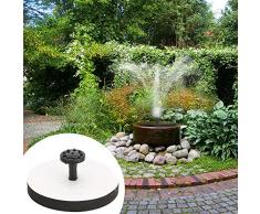 Bulary Square Solar Brunnen Wasserpumpe mit Rahmen Garten Pool Landschaft Brunnen Solarpumpe Garten Teich Bewässerung Kit