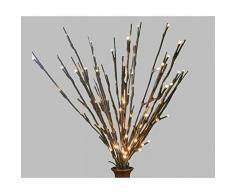 Lichtzweig in Form eines Zweigs, kreative Lichter für Bäume, dekorativ, faltbar, wasserfest, für LED, geeignet für die Umgebung für dekorative Beleuchtung, Hochzeiten, 1PC