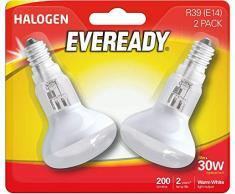 Eveready Reflektor-Birne, R39, 30 W, kleine Edison Lava-Lampe x 2
