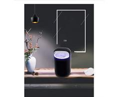 Elektrische Mückenfalle, chemikalienfreier UV-LED-Licht-Fotokatalysator mit USB-Anschluss und Saugventilator für Innen- / Außen- / Wohnbereiche-White