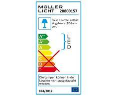 Müller-Licht 20800157 LED Wannenleuchte Aqua-Promo 2/120 Grau, 1263x116x87 mm