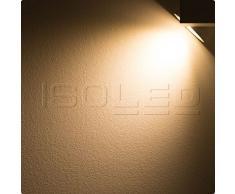 Euro Schienen-Strahler, 3Phasen Schienensystem LED Spot, 30 Watt, fokussierbar 30°-50°, warmweiß, dimmbar