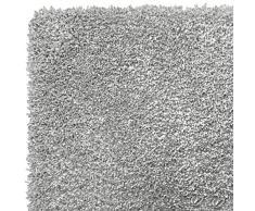 F&S VELVET ALLURE grau 120 x 170 cm pastelfarbiger und sehr hochwertiger robuter verlourartiger TEPPICH bestehend aus 100% Polymer Yarns geeignet für Wohnbereiche und Schlafzimmer. Leicht zu reinigen und waschbar in der Waschmachine