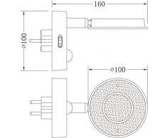 Trango Sensor LED Nachtlicht TG2636-016 in weiß mit Automatikfunktion direkt 230V mit Bewegungssensor I Sicherheitslicht I Steckdose Lampe I Wandlampe I Orientierungslicht