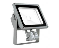 30 Watt LED Wand Strahler Fluter Outdoor Bewegungsmelder Bau Lampe Spot beweglich EGLO 93478