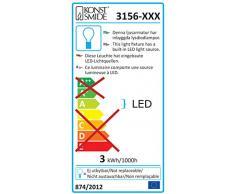 Konstsmide 3156-703 LED Dekolichterkette schwarze Metallbälle / für Innen (IP20) 24V Innentrafo / 24 warm weiße Dioden / transparentes Kabel