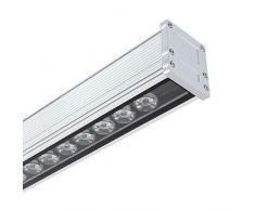 LEDKIA LIGHTING LED Lineal Wandfluter 1000mm 36W IP65 High Efficiency Neutrales Weiß 3800K - 4200K