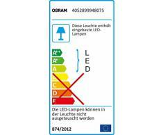 OSRAM TubeKIT LED 2ft 840, Unterschrankleuchte mit LED Röhre, 4000 K, Direktanschluss 60 cm, kaltweiß 4052899948075