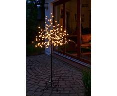 LED Kirschblütenbaum mit 180 LEDs - Höhe ca. 150 cm - Farbe: warmweiß