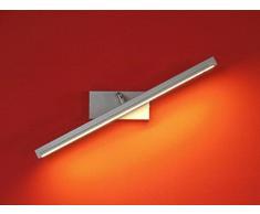 Wandlampe 75 cm Warmweiß MOD-B Bilderleuchte Beste Qualität Designer Lampe Bildleuchte LED ... (Schwarz)