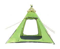 Youxd Familienzelt, 3-4 Personen All Season Zelte sind einfach einzurichten, einfach zu erweitern Hagel Indoor Wandern Strände und große Wohnbereiche Grün