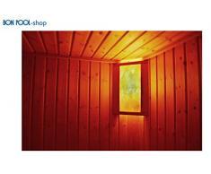 BON POOL Salzkristalllampe Eigenherstellung Saunabeleuchtung doppelt