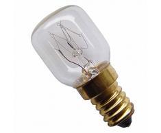 5 Stück Glühbirne E14 - 15 Watt Spezial-Leuchtmittel für Salzlampe und Kühlschrank U2282