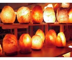 Salzkristall-Leuchten: Jede Leuchte ein Unikat