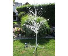 LED Lichterbaum 296 LEDs Leuchtzweige 1,80m Hoch deko Led Baum Beleuchtung 60955