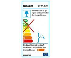 Badlampe, Deckenleuchte, 2x GU10, 35 Watt, 220 Lumen, IP44, dimmbar, Strahler dreh- und schwenkbar, chrom 2225-028