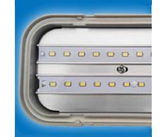 *NEU* LED Feuchtraum Wannenleuchte Hermetische IP65 150cm 4000K neutralweiß