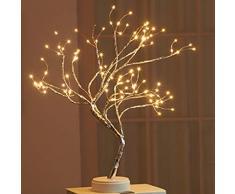 LED-Baumlicht, Bonsai Baum Licht Tabellen Lampe,Lichterbaum, Flexible Zweige Baumlicht für Haus Party Hochzeit Festival Weihnachts Dekorationen