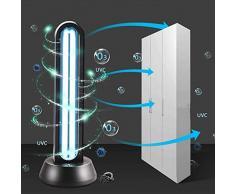 UV-Licht keimtötende Licht Quarzlampe mit Ozon tötet 99,9% der Bakterien Schimmel Germ Virus Fernbedienung für Wohnbereiche,No Ozone Layer