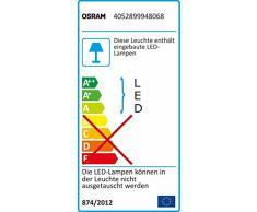 OSRAM LED-TubeKIT 2ft / Unterschrankleuchte / weiß / Direkanschluss mit Kabel / Energieklasse A / Länge 60cm / 9 Watt / warmweiß-3000K