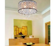 OOFAY LIGHT® Einfache und graziöse Kristallleuchte 4 Stücke-Kristall-Deckenlampe für Wohnzimmer Moderne Kristallleuchte Kristall-Deckenlampe für Schlafzimmer
