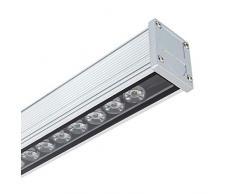 LEDKIA LIGHTING LED Lineal Wandfluter 500mm 18W IP65 High Efficiency Warmes Weiß 2800K - 3200K