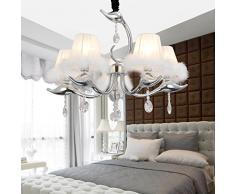 OOFAY LIGHT® Einfache und elegante Kristall-Lampen 5 einfachen europäischen Kristalllüster Schlafzimmer Wohnzimmer Kristall-Kronleuchter Kristall-Kronleuchter Restaurant