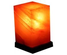 Kristallsalz-Lampe Feng Shui mit Elektrik 3-4 kg Salzlampe