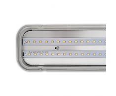 LED Wannenleuchte Arbeitsleuchte 36W Wannenlampe Feuchtraumleuchte Kellerlampe Hallenleuchte Industrie Lager Deckenleuchte (HLA-36W-3000lm)