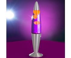 MIA Light Lava ↥420mm/ Kinder/ Retro/ Lila/ Lampe Lavalampe Lavaleuchte Magmalampe Magmaleuchte