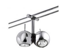 Paulmann 976.16 Schienensystem Light&Easy Spot Sphere 2x20W GU4 Chrom 12V Metall