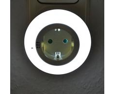 LED Nachtlampe für Steckdose mit Farbwechsel Nachtlicht Treppenlicht Lampe