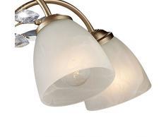 Led Lampe Kristall Kronleuchter Deckenlampe Pendelleuchte Lüster Hängeleuchte ~ Kronleuchter wohnzimmer günstige kronleuchter wohnzimmer bei