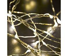Lichterkette Bündel 30-LED Batterie 60cm warmweiss Weihnachten Xmas Deko